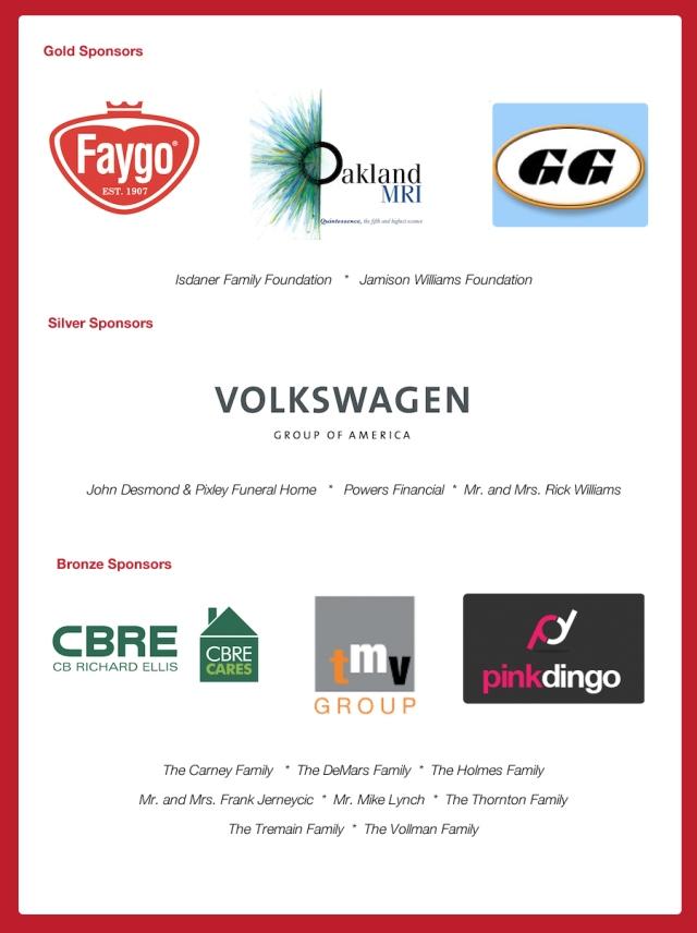 2010 Gobble Wobble Sponsors